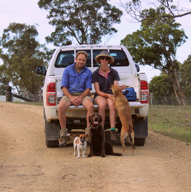 good life beef owners chris and lucy